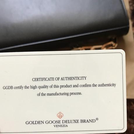 Golden Goose Portemonnaie Schwarz Billig Verkauf Für Schön Am Billigsten Bestellen Günstig Online Online-Shopping Günstigen Preis Verkauf 2018 Neueste hK72mka