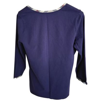 Burberry Oberteil in Violett