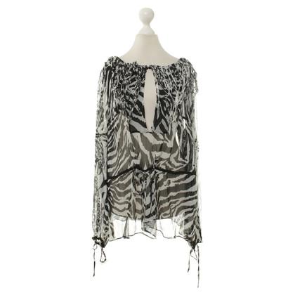 Blumarine Dierlijke print blouse
