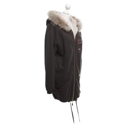 Twin-Set Simona Barbieri Jacket made of sweat fabric