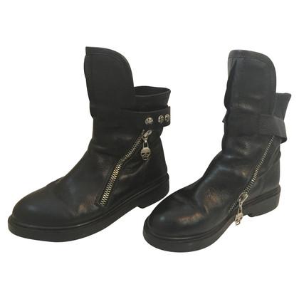 Alexander McQueen Skull Boots