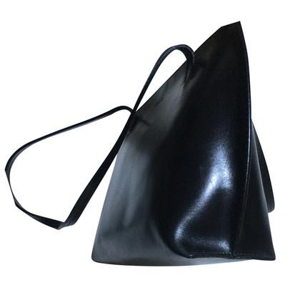 Furla Schwarze Lederhandtasche