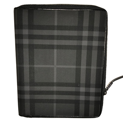 Burberry IPad case with London check pattern