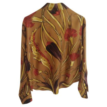 Hermès zijden blouse