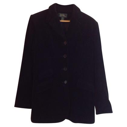 Ralph Lauren Veste en velours noir