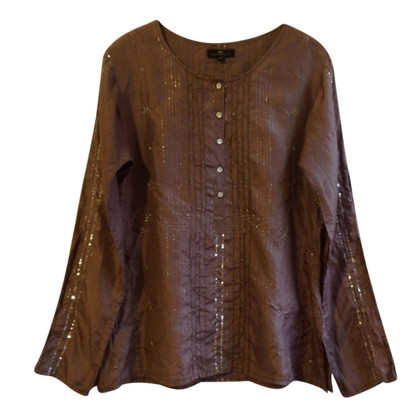 Day Birger & Mikkelsen Silk blouse with embroidery