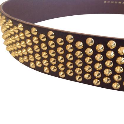 Schumacher Belt with rivets