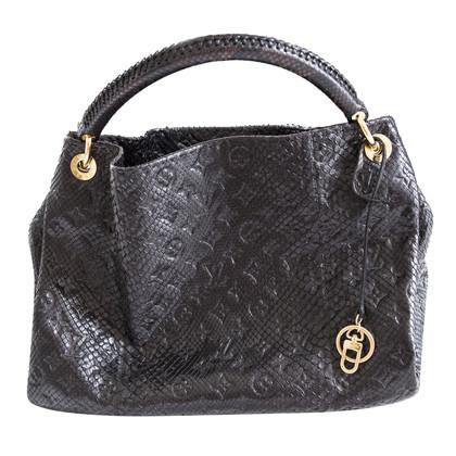 "Louis Vuitton ""Artsy MM Python Leather"""