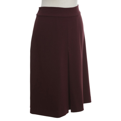 Diane von Furstenberg skirt in Bordeaux