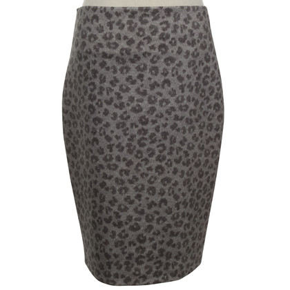 St. Emile skirt with leopard pattern