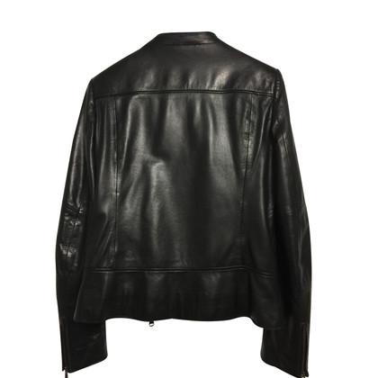 René Lezard leather jacket