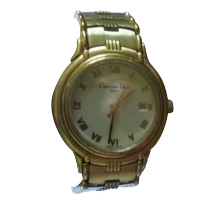 Christian Dior Gold plated wristwatch
