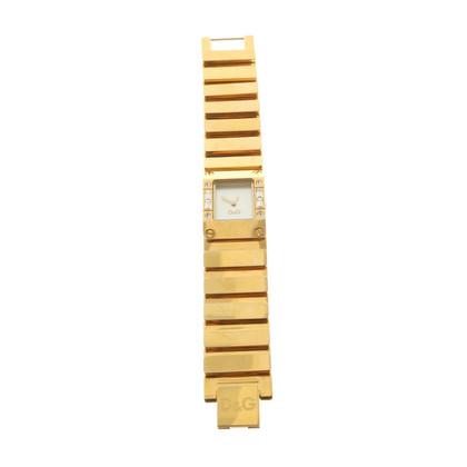 D&G Goldfarbene Uhr