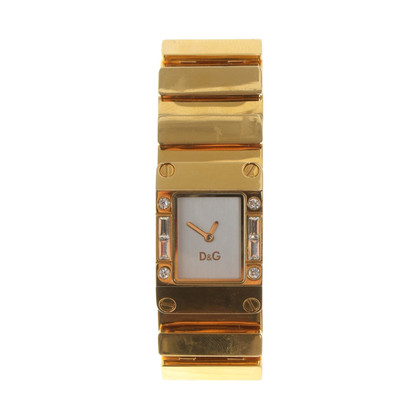D&G Gold colored clock