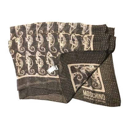 Moschino zijden sjaal