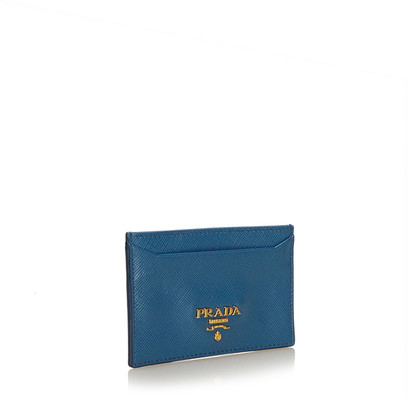 Prada Card case made of leather