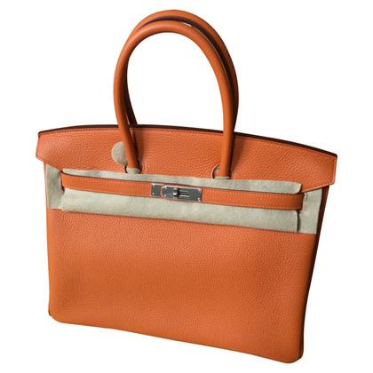 "Hermès ""Birkin Bag 35"" in pelle Clémence"