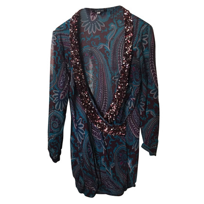 Patrizia Pepe Silk blouse with sequins