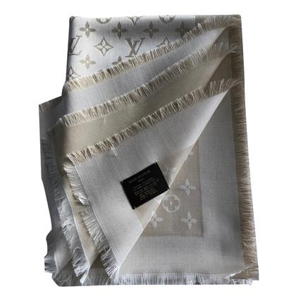 Louis Vuitton Monogram Shine cloth in beige / gold