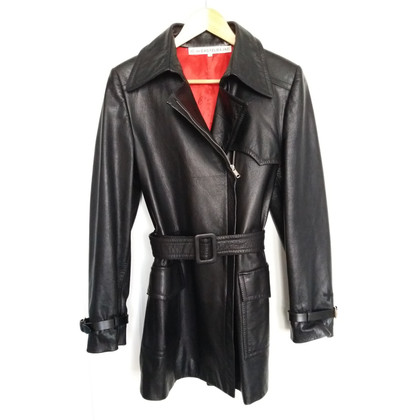 JC de Castelbajac Trench in pelle Cappotto