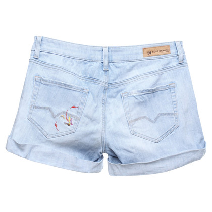 Boss Orange Denim shorts in used look