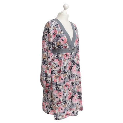 Manoush Silk dress with floral pattern