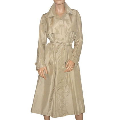 Céline trench coat with silk