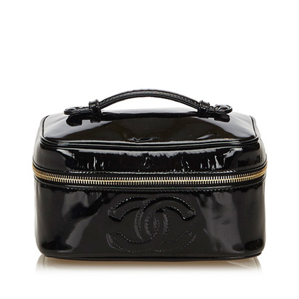 Chanel Beauty Case en cuir verni