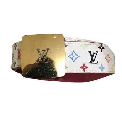 Louis Vuitton Belt made of Monogram Multicolore Canvas / leather
