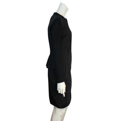Marc Cain Zwarte jurk met rits