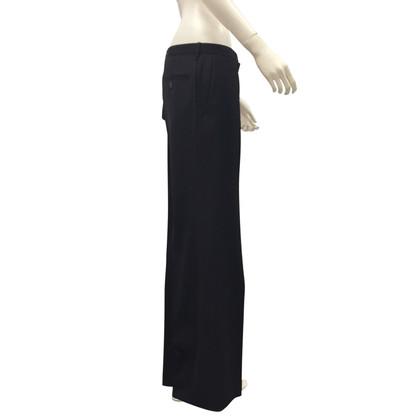 Comme des Garçons Pantalon en laine noire