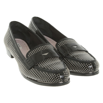 Miu Miu Loafer with rivets