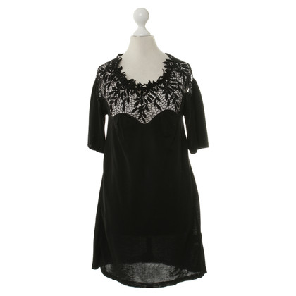 Blumarine Dress in black with lace