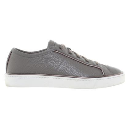 Santoni Sneaker in Grau