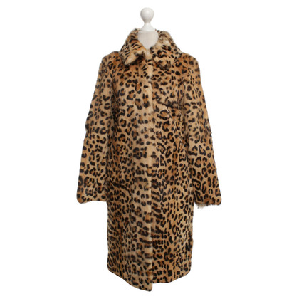 Moschino Cheap and Chic Coat in Animal Art