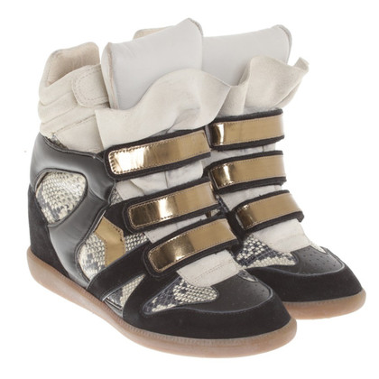 Isabel Marant Sneaker-Wedges mit Muster