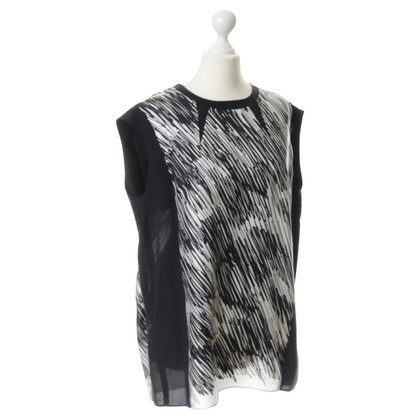Sport Max Silk top with print