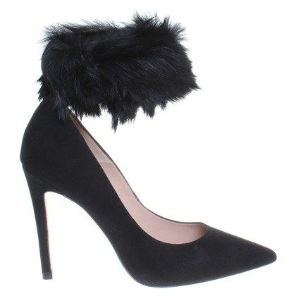 Pura Lopez Pumps with fur