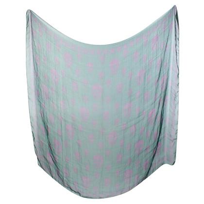 Alexander McQueen Silk scarf with skull pattern