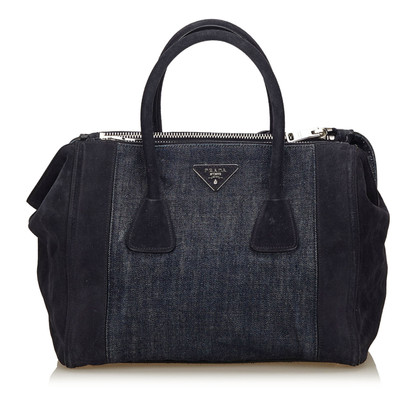 "Prada ""Double Zip Tote Bag"""
