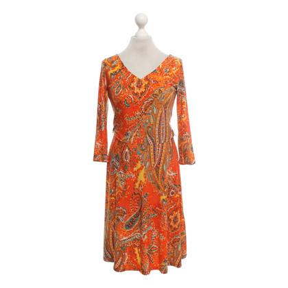 Ralph Lauren Jersey jurk in multicolor