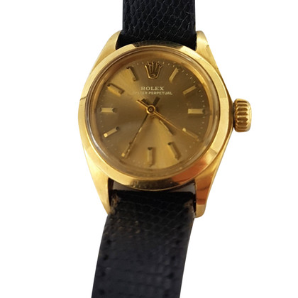 "Rolex ""Oyster Perpetual 18K Gold"""