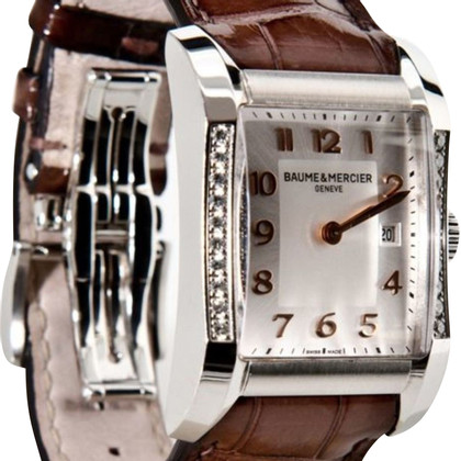 "Baume & Mercier Uhr ""Hampton Rectangular Diamond"""