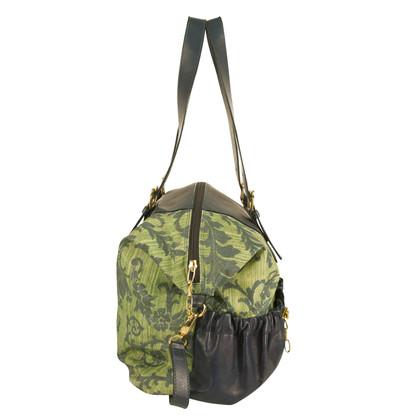 Roberto Cavalli Blue floral Bag