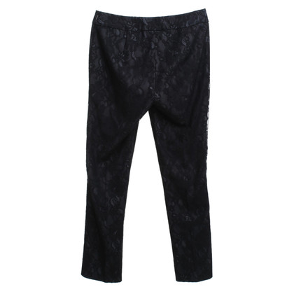 Sport Max trousers with lace trim