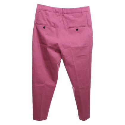 Isabel Marant Etoile Broek in donker oud roze