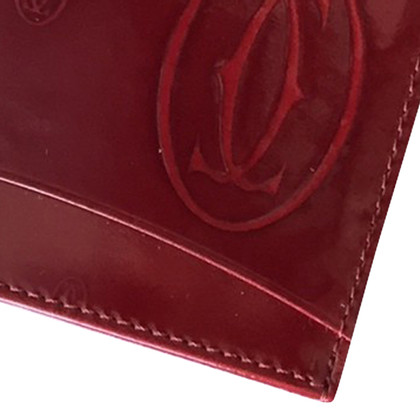 Cartier 3 cases Leather card holder