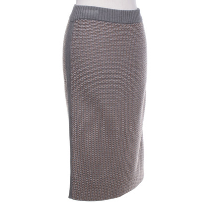 Max Mara Knitted skirt with pattern
