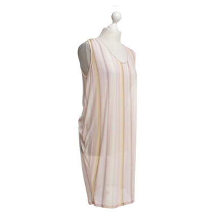 Velvet Dress in pastel tones