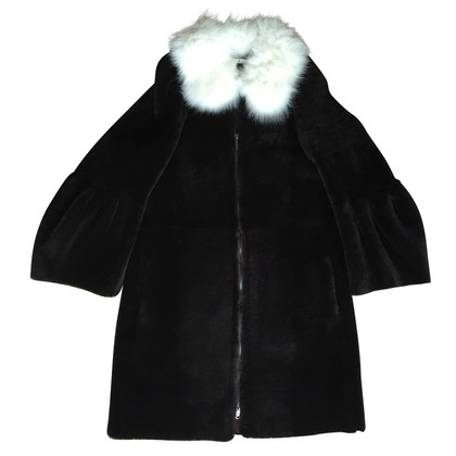 Dorothee Schumacher Sheepskin coat in Brown